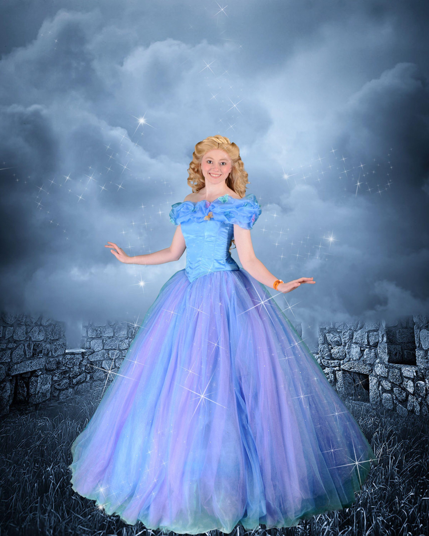 Cinderella gown designed after Disney\'s 2015 Cinderella | Oh To ...