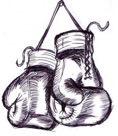 The Real Reason Brian Bandas Is The Man Kelly Bandas Boxing Gloves Tattoo Boxing Tattoos Boxing Gloves Drawing