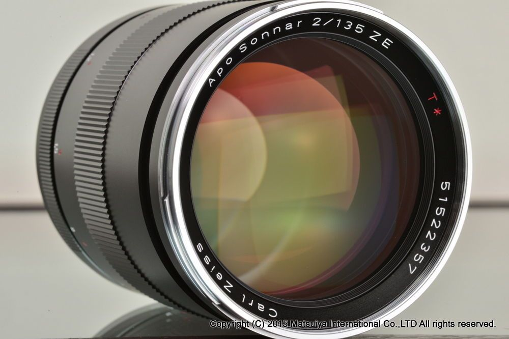 Mint Carl Zeiss Apo Sonnar T 135mm F 2 Ze For Canon Zeiss Canon Lens Lens