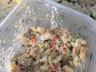 Russian Potato Salad (Salat Olivier) #olivierrussischersalat Russian Potato Salad (Salat Olivier) #olivierrussischersalat