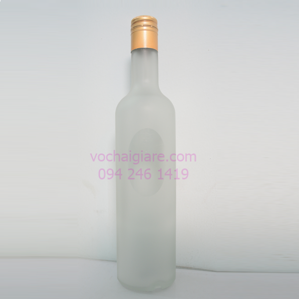 Thông tin chi tiết về sản phấm Chai thủy tinh elip 500ml