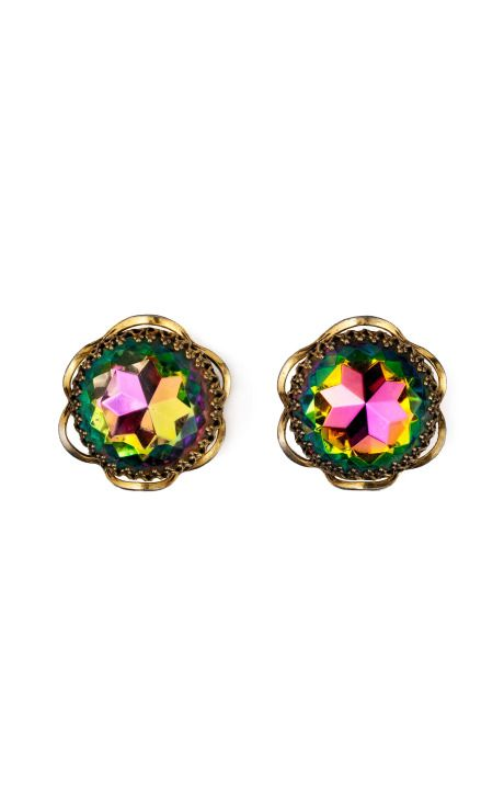 2d40b0cfc66 Carole Tanenbaum: Schiaparelli Watermelon Stone Earrings | Elsa ...