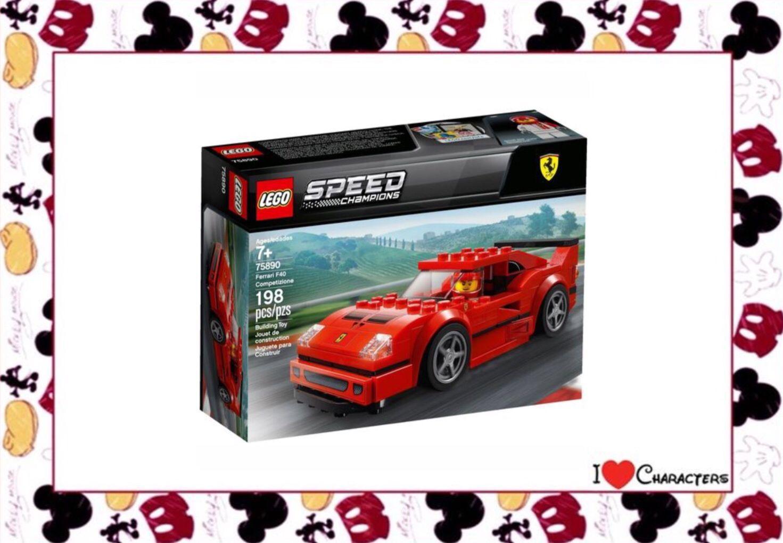 Lego 75890 Ferrari F40 Competizione Speed Champions New With Box Ferrari F40 Ferrari Lego