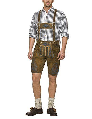 #Wiesn #Oktoberfest #Stockerpoint #Herren #Lederhose #Henry, #Braun #(Nuss #Antik-Blau), #44 Stockerpoint Herren Lederhose Henry, Braun (Nuss Antik-Blau), 44, , Latz, , , ,