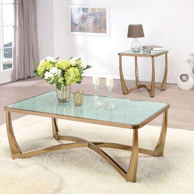 ACME Furniture Orlando Coffee Table Set