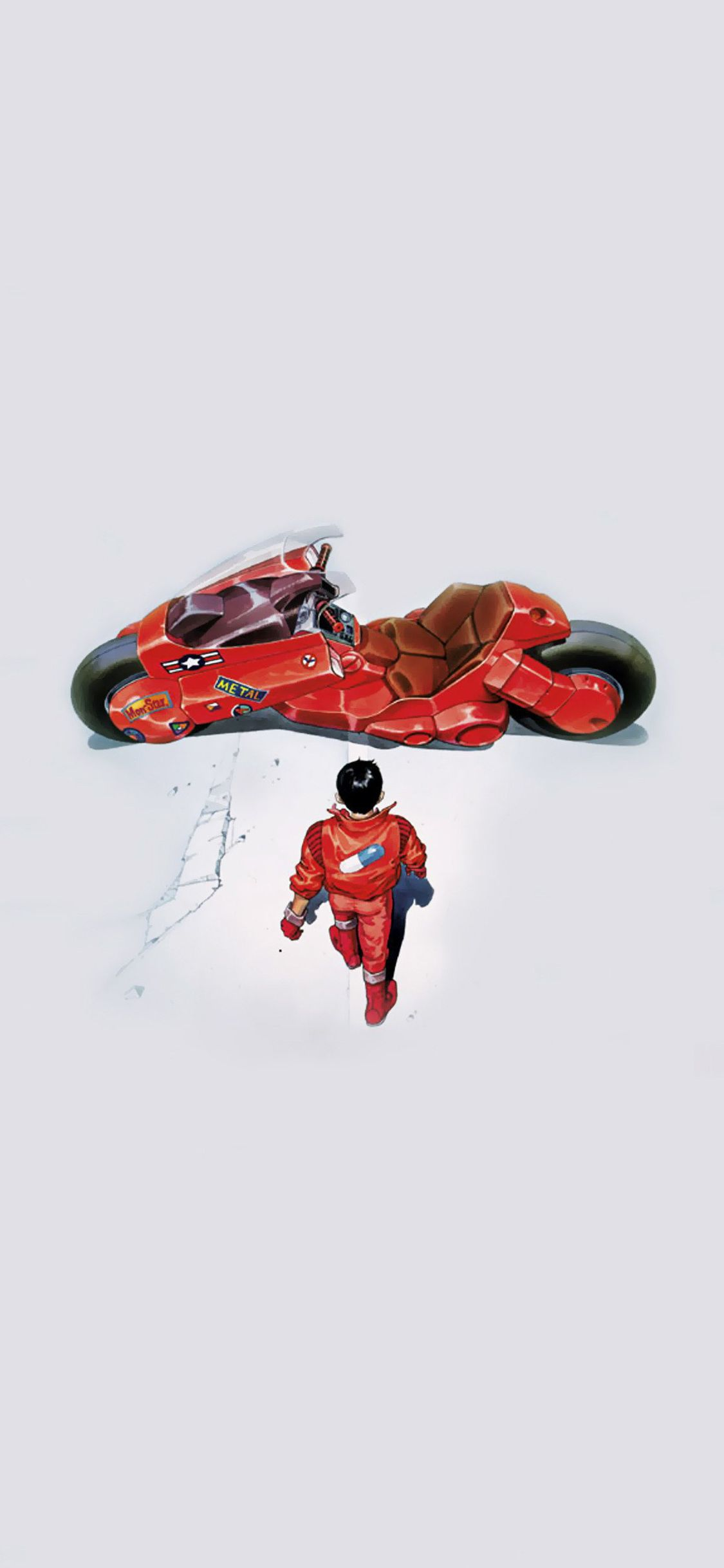 Hey Guys I Made This Wallpaper From He Anime Movie Akira Which I Couldn T Find Any Good One Iphone Wallpaper For Guys Best Iphone Wallpapers Anime Wallpaper