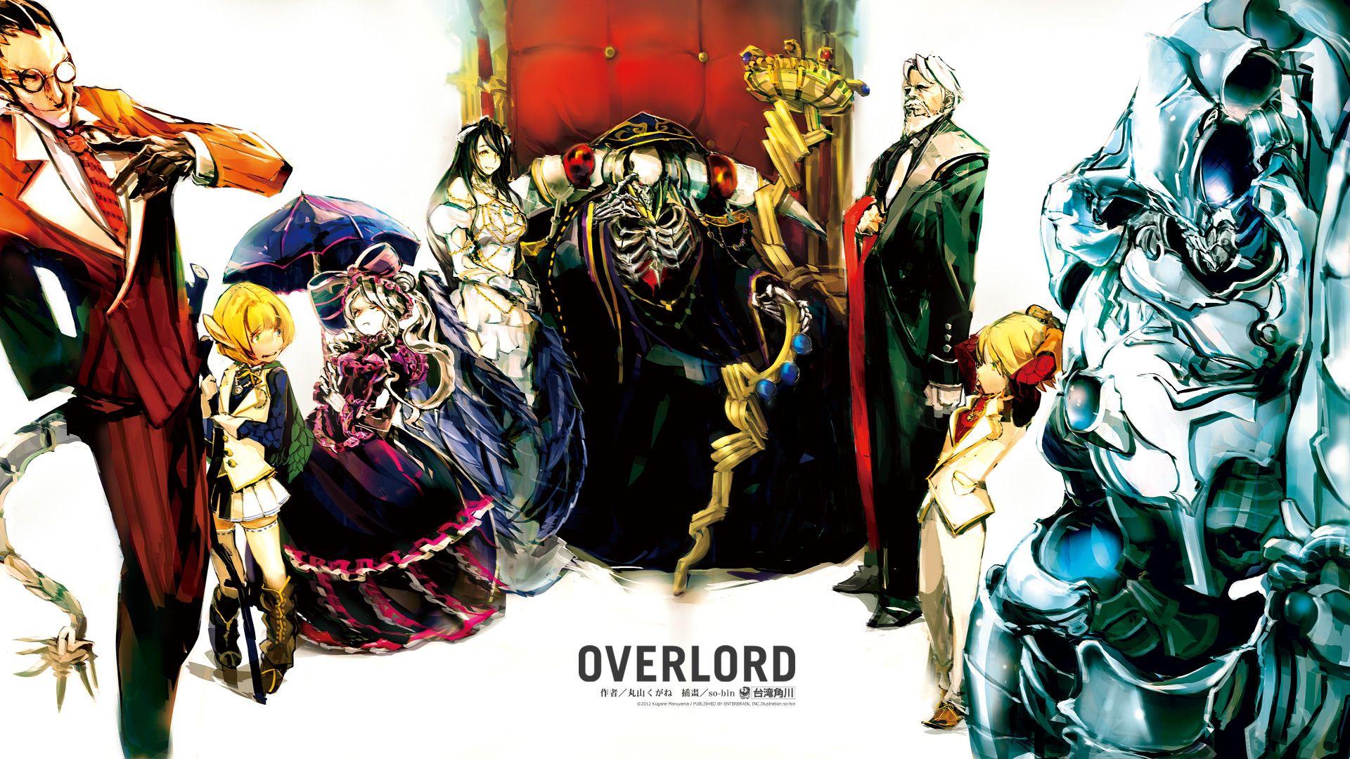 Overlord anime 1080 pixels pesquisa google the best of - Google anime wallpaper ...