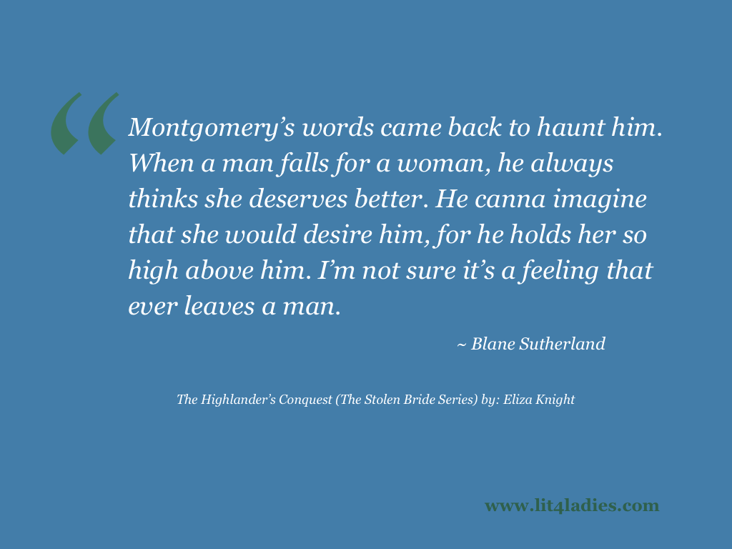Highlander Quotes The Highlander's Conquest The Stolen Bride Series By Eliza