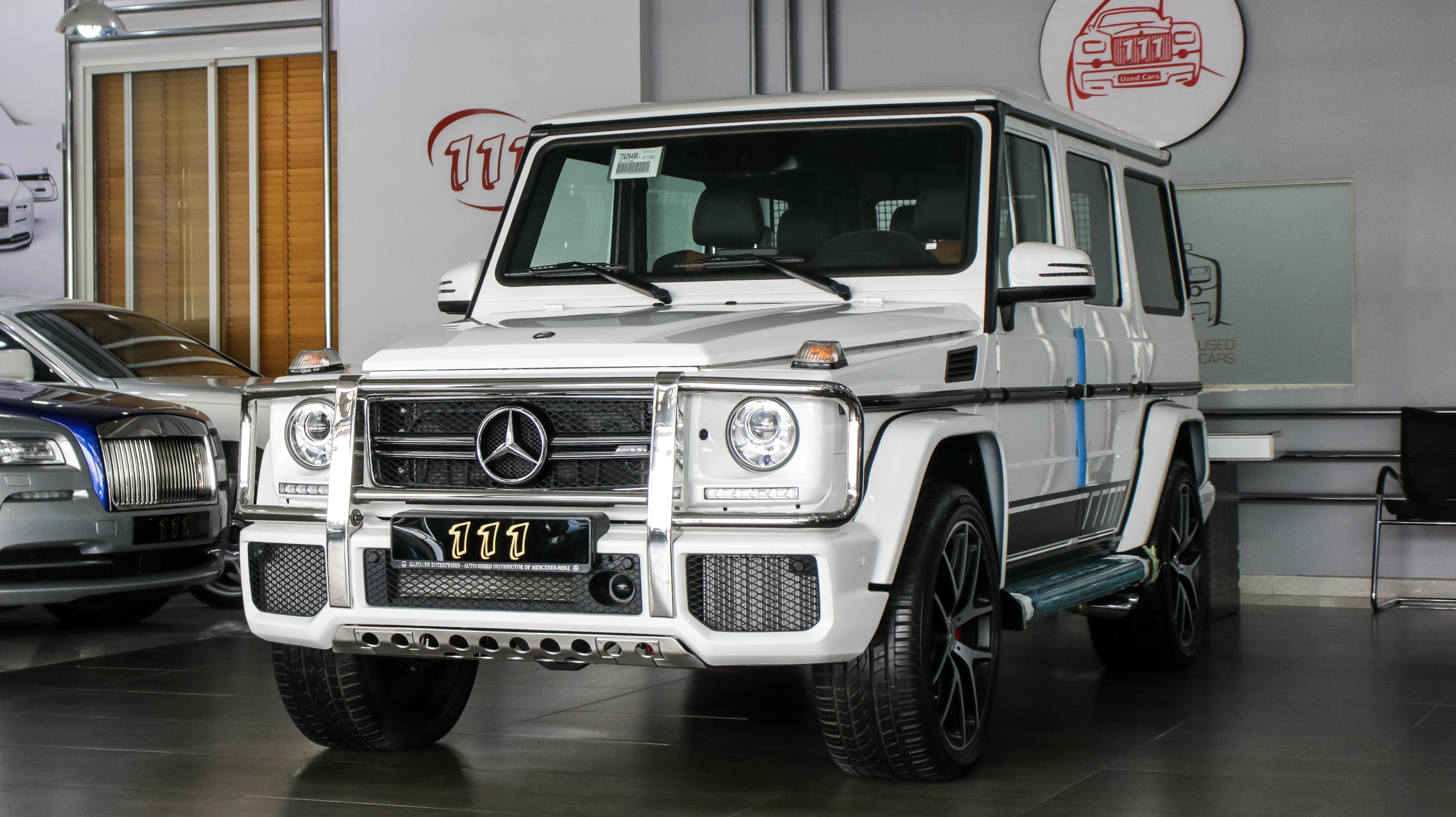 Model Mercedes Benz G 63 Amg Edition 463 Warranty Year 2017 Km