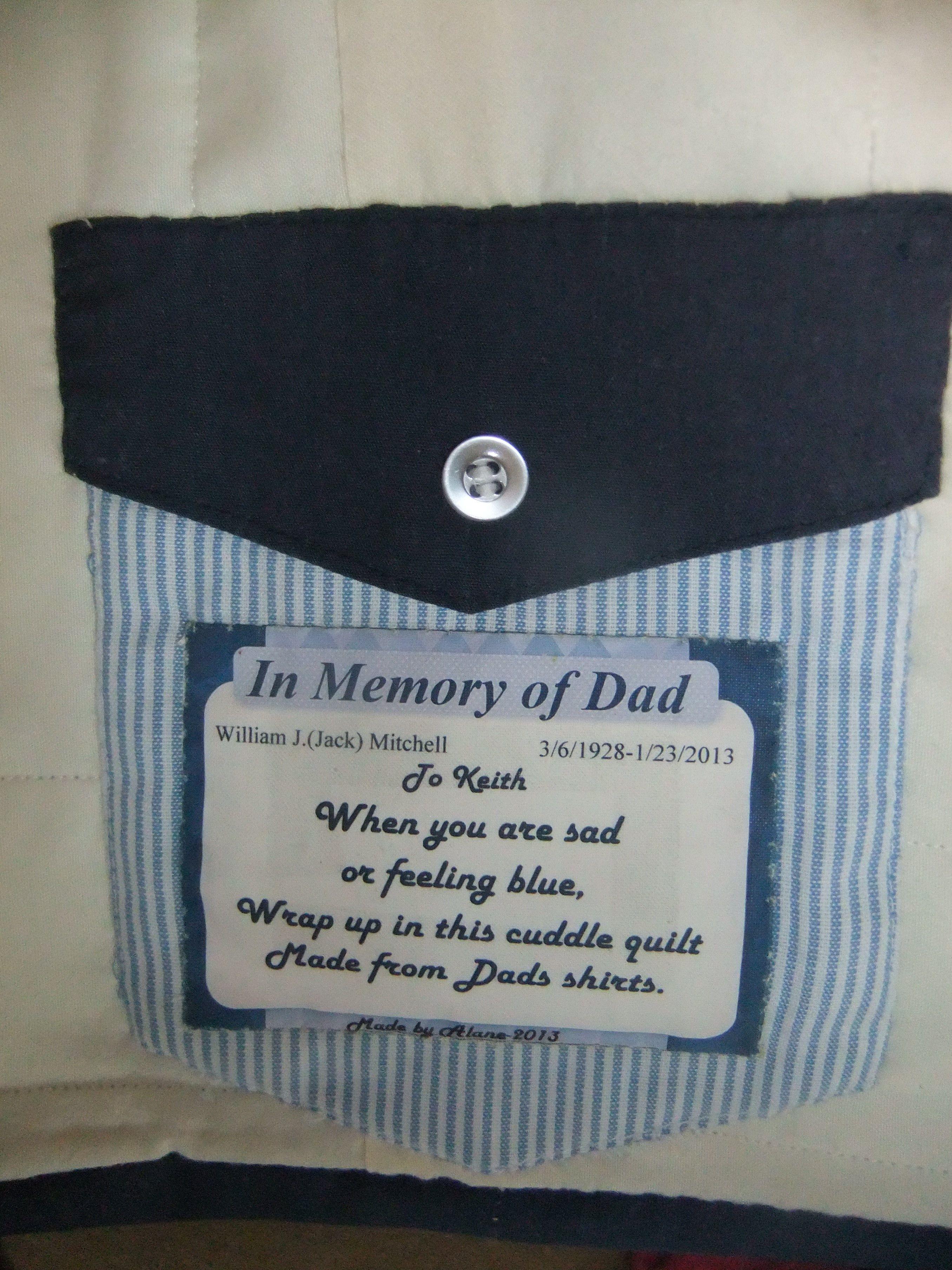 in memory of........   Memory quilt poem   Pinterest : memorial quilt poems - Adamdwight.com