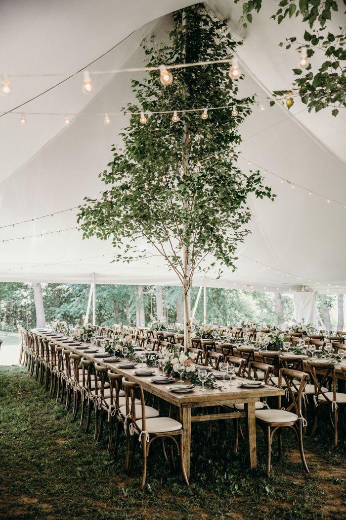 Diese emotionale Hochzeit in Ontario zu Hause verwendet Grün-Dekor in den epischsten Weisen   – Wedding