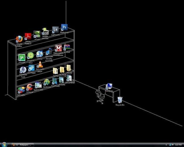 Desktop Arrangement Of The Day Creative Desktop Wallpaper Desktop Wallpaper Creative Desktop