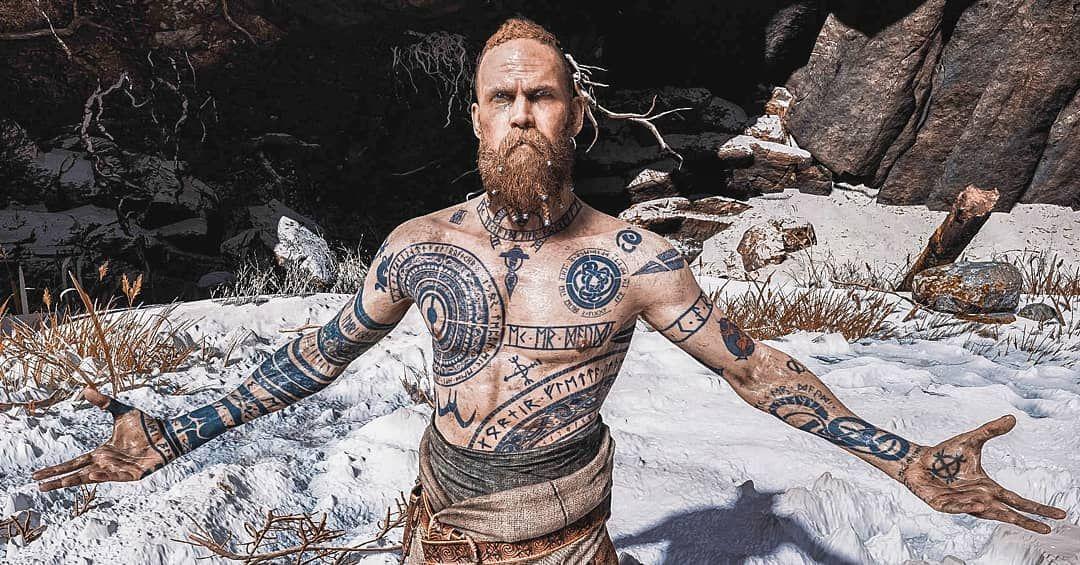 картинки викинг в рунах поэтому