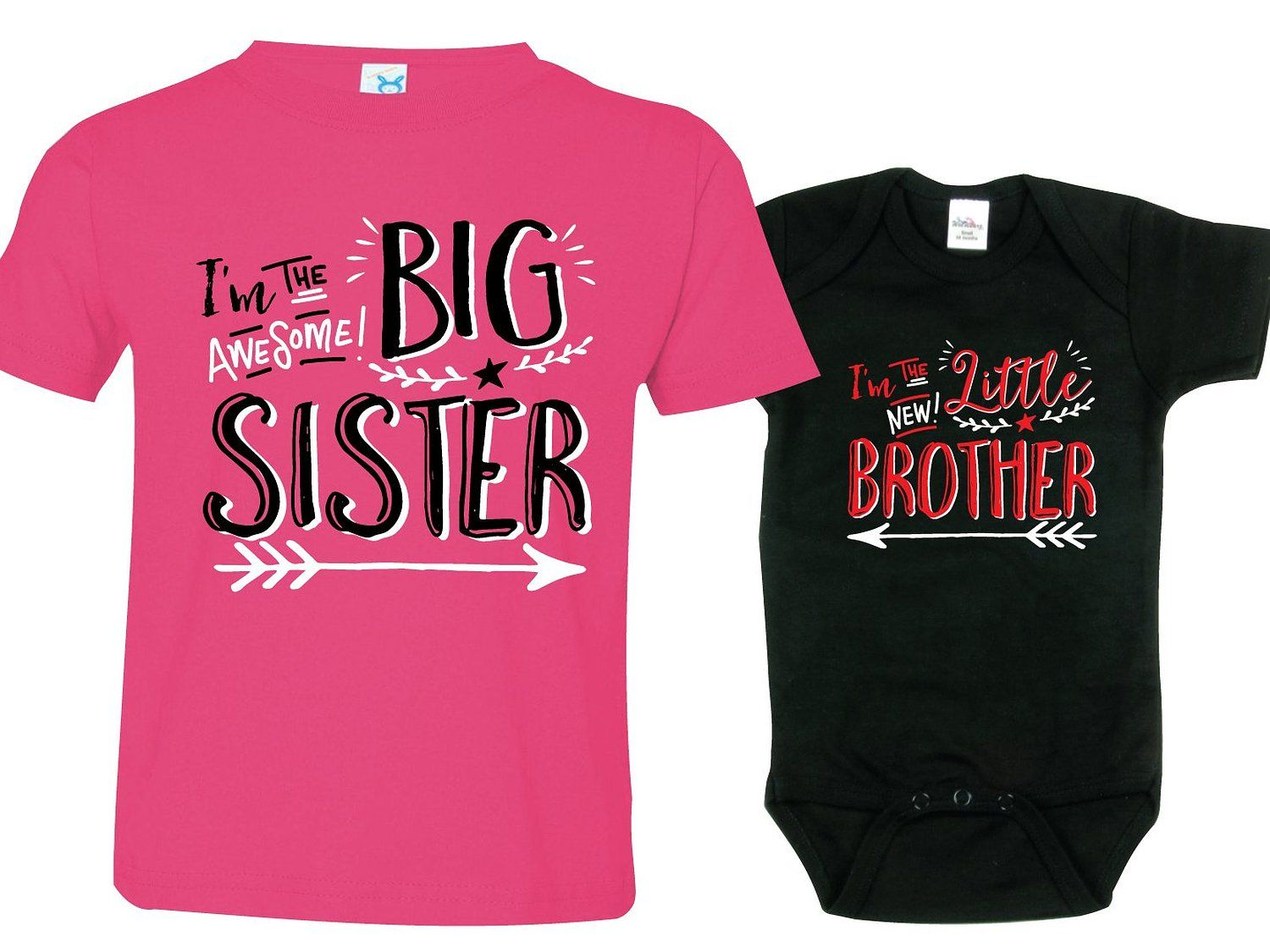 Amazon.com  Sibling Shirts for Sister and Brother 0067757c2