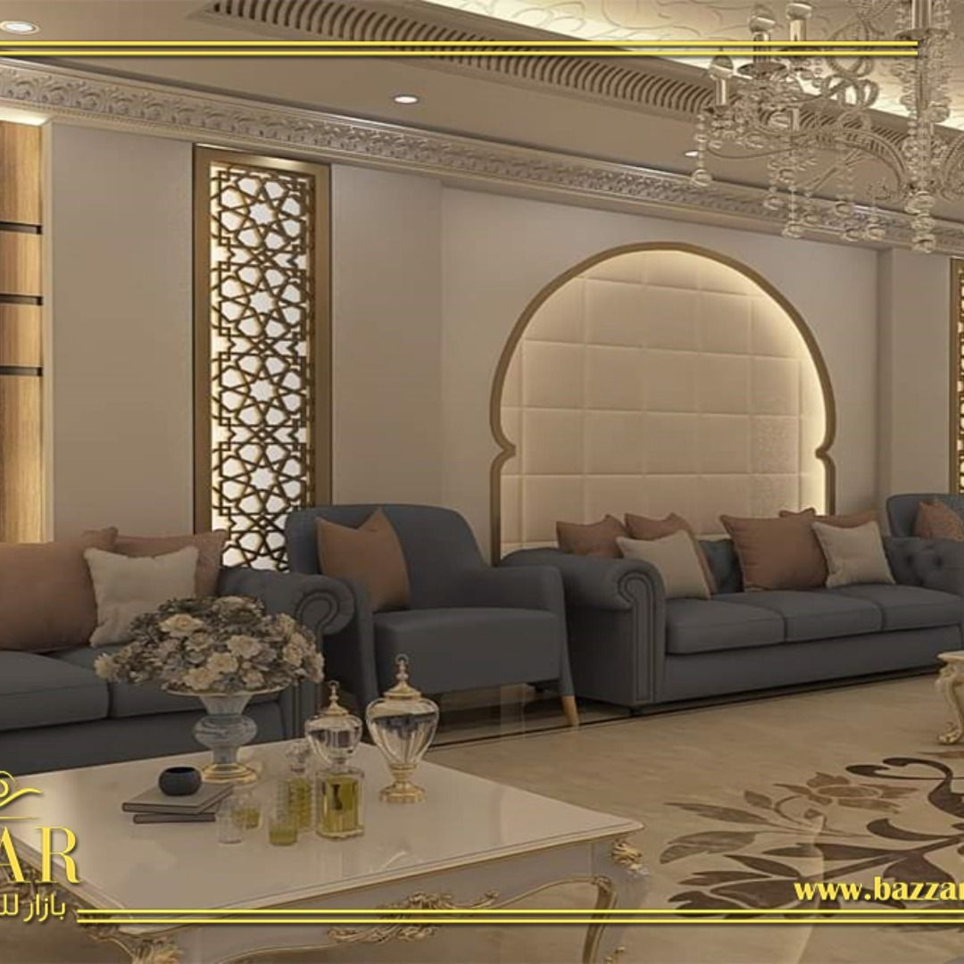 المجلس هو المكان التقليدي حيث يجلس الضيوف ويتبادلون الأحاديث مصممينا الخبراء يقدمون تصاميم مجالس عربية رائعة وبأنماط متنوعة مثل وال Home Decor Furniture Decor