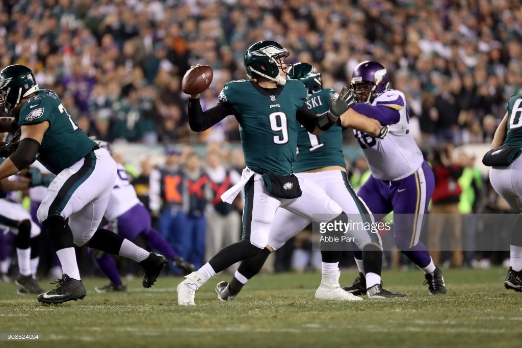 News Photo Nick Foles of the Philadelphia Eagles