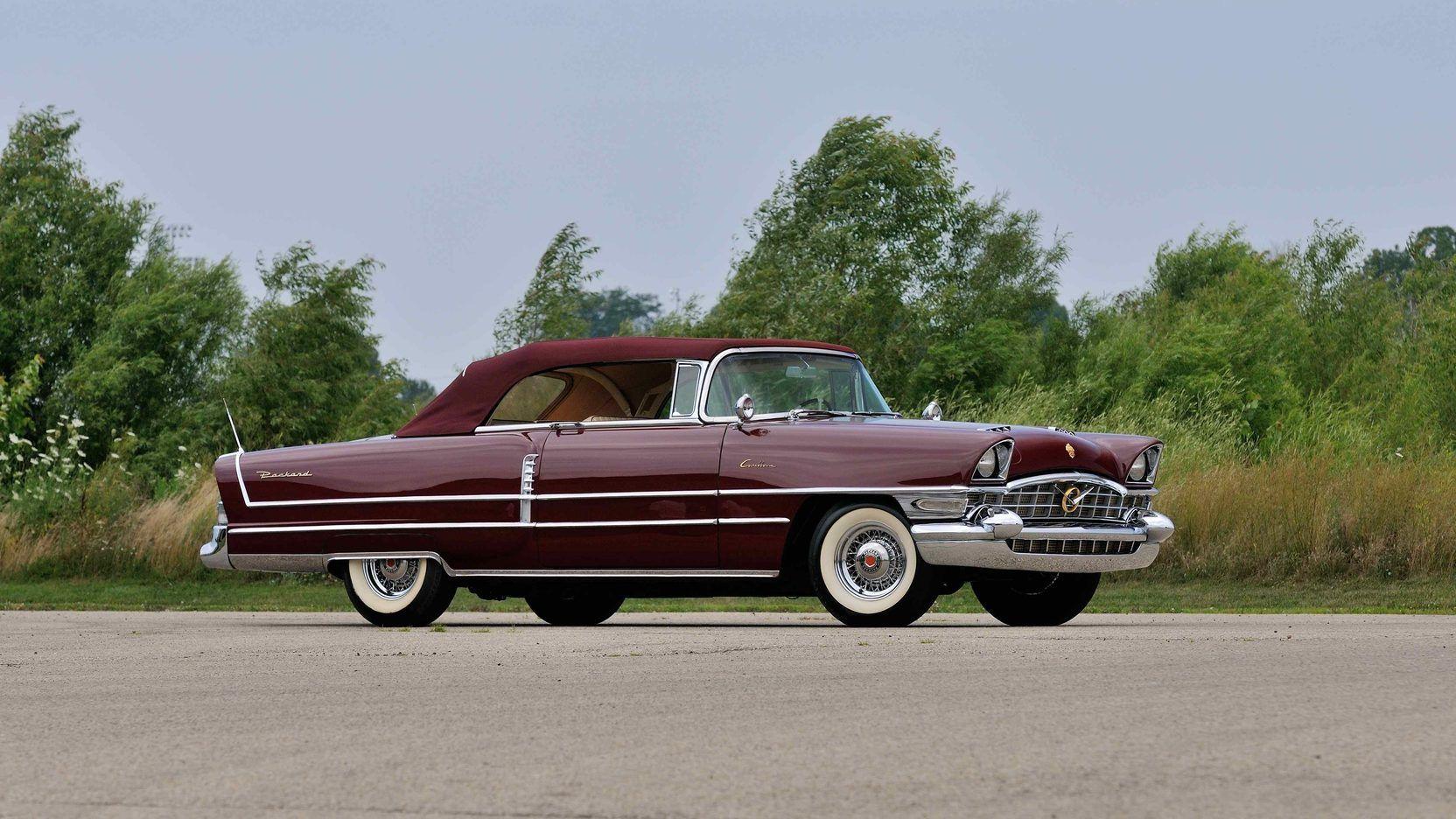 1956 Packard Caribbean Convertible presented as Lot S52.1 at ...