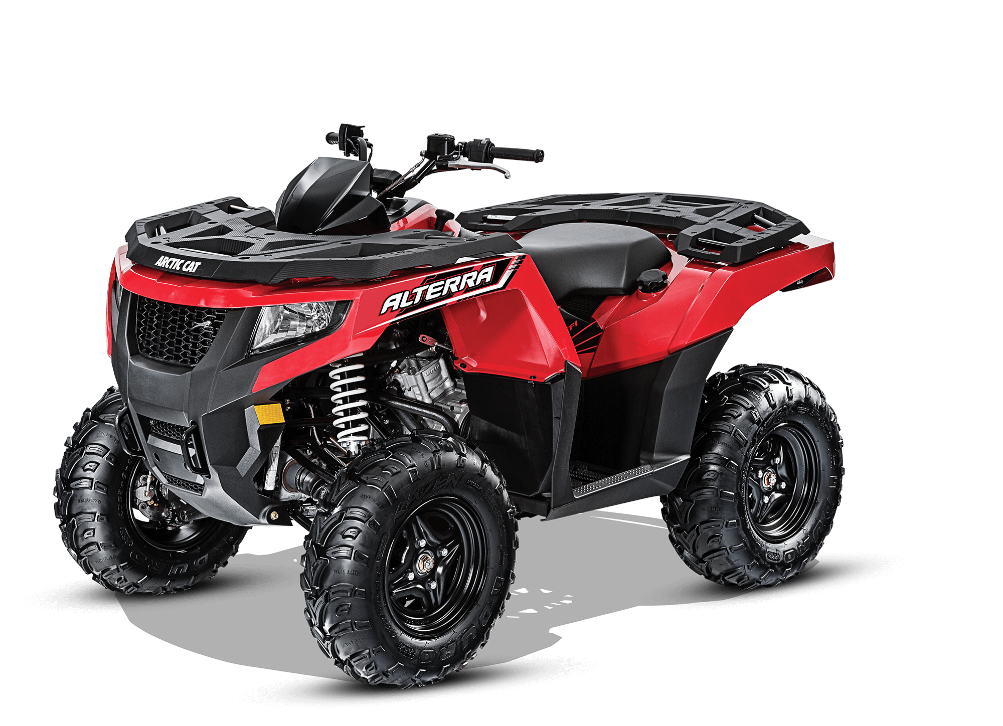 Arctic Cat Alterra 550 with a 545 CC, SOHC, 4Stroke, 4