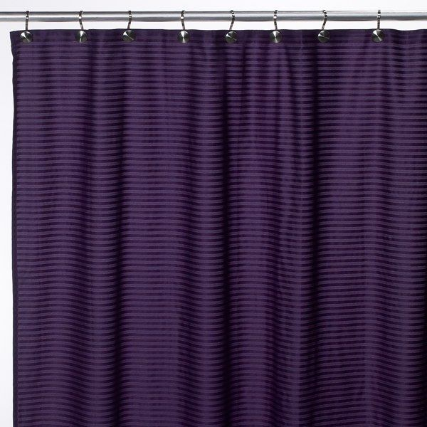 Aqua Tec Fabric Shower Curtain Liner
