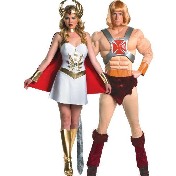 Halloween Costumes Ideas 2020 Men He Man and She Ra Couples Costumes | Halloween | 80s costume