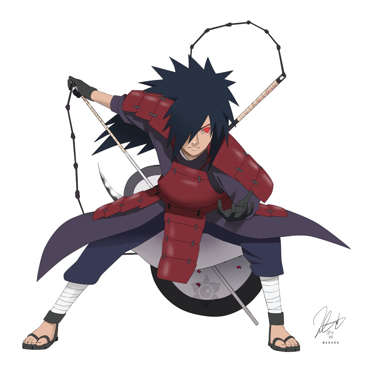 Madara Uchiha By Amidnightbloom On Deviantart Madara Uchiha Uchiha Naruto Drawings