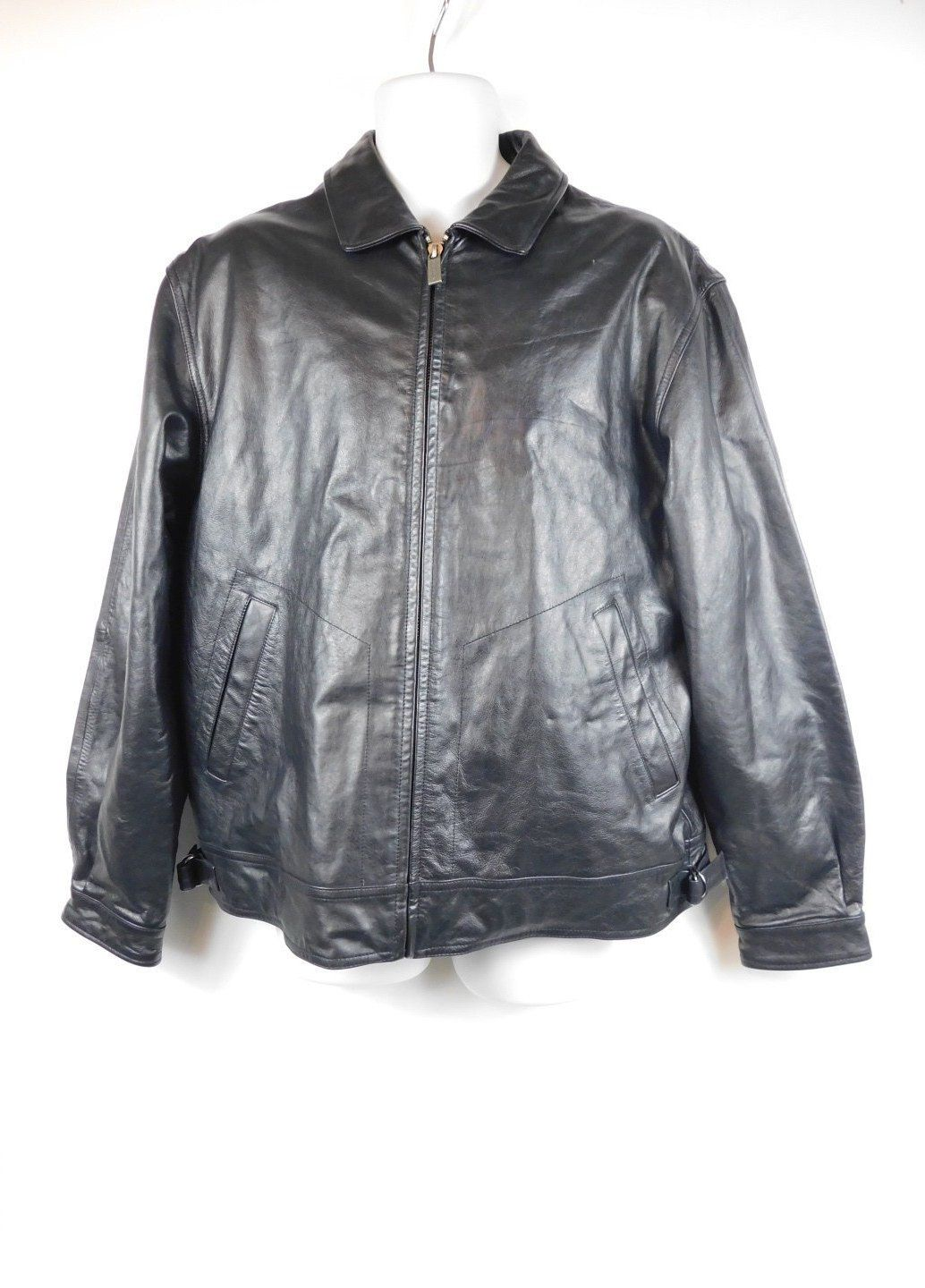 SPRING SALE Mens Vintage 90s Wilsons Leather M. Julian