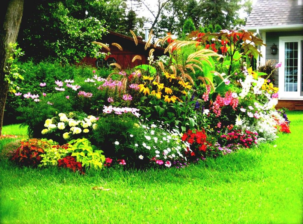 Flower Garden Top 26 Flower Garden Designs For Full Sun: Flower Bed Ideas  For Full