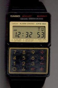 Reloj De Casio RetroDigital Cfs 80Watch Caja Y OkZiulwPXT