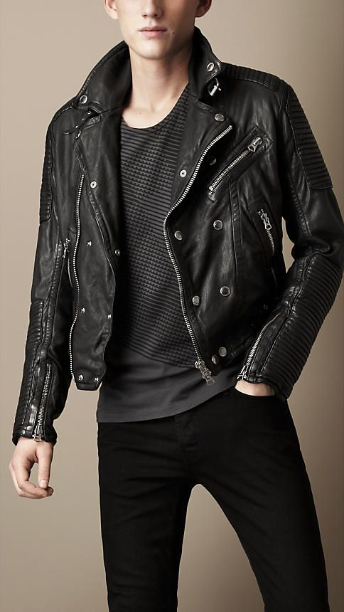 Men's Jackets   Leather Bikers, Bomber & Quilted   Burberry United States