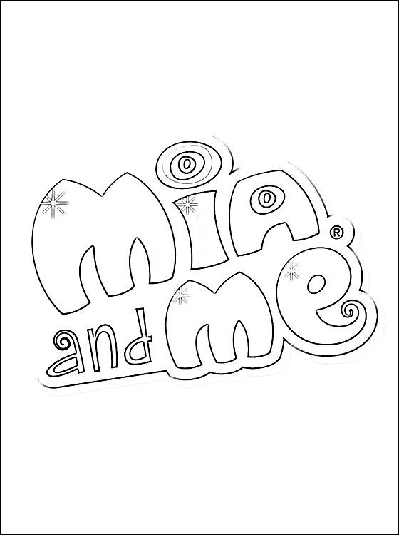 7 Inspirational Mia And Me Malvorlagen Zum Ausdrucken: Mia And Me Logo