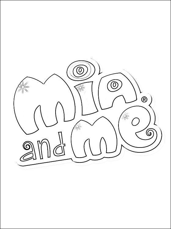 Mia And Me Logo Ausmalbilder Ausmalen Malvorlagen