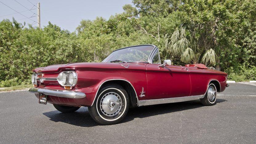 1964 Chevrolet Corvair Monza Spyder 10 Chevrolet Corvair Monza Mecum Auction