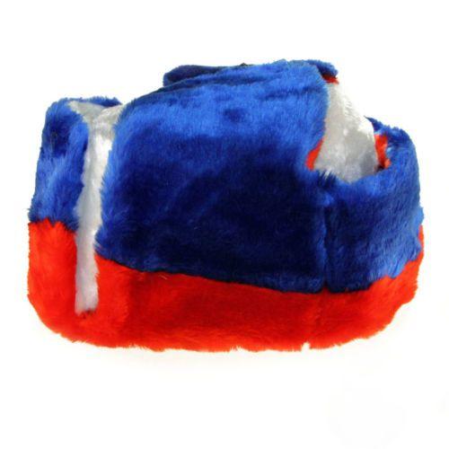RUSSIAN WINTER RUSSIAN FLAG HAT USHANKA b345fccb0353