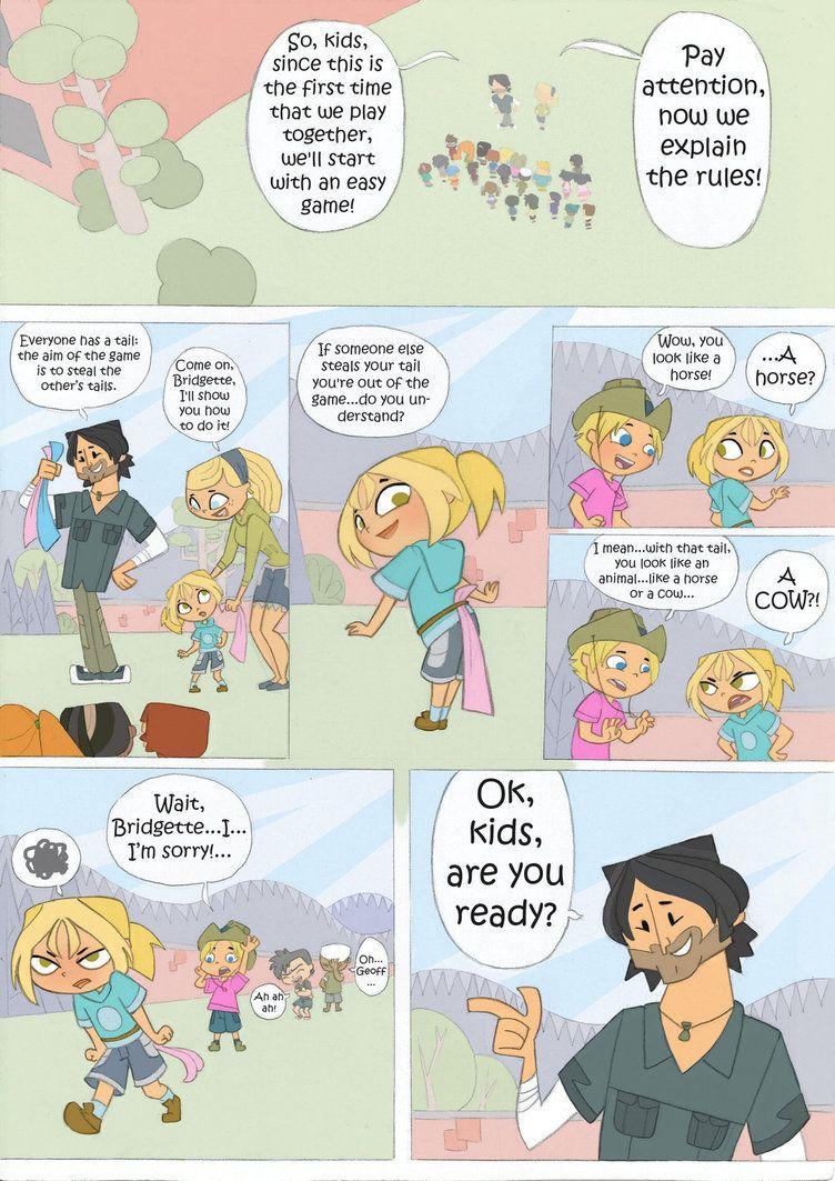 Total Drama Kids Comic Pag 5 By Kikaigaku Deviantart Com On Deviantart