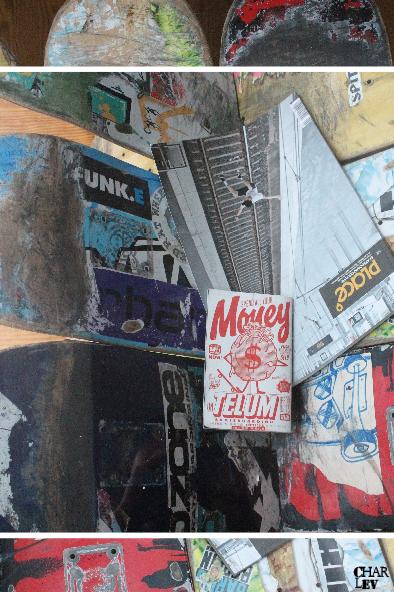 Natürlich ist allein das Abfahren der 8 Skateboards eine jahrelange Vorarbeit, um überhaupt beginnen zu können.