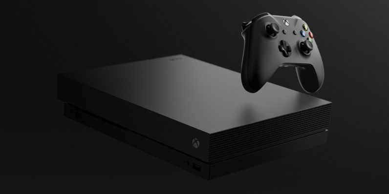 Microsoft Unveils The 499 Xbox One X Xbox One Xbox Console