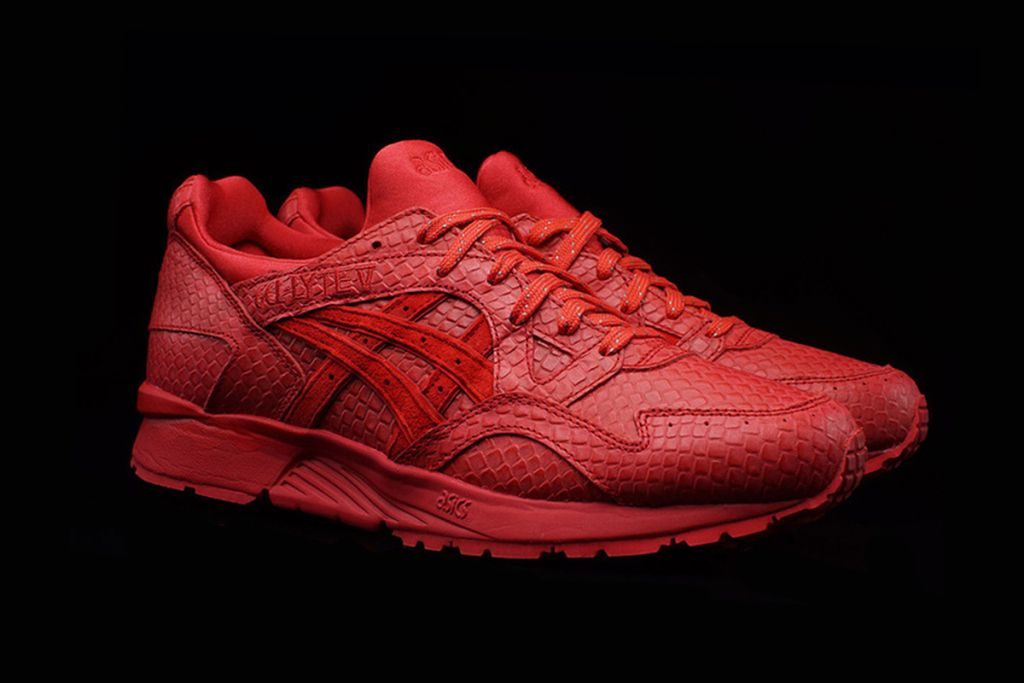 asics gel lyte v 5 red reptile