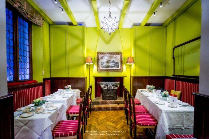 Babingtons Tea Room in Rome, Italy