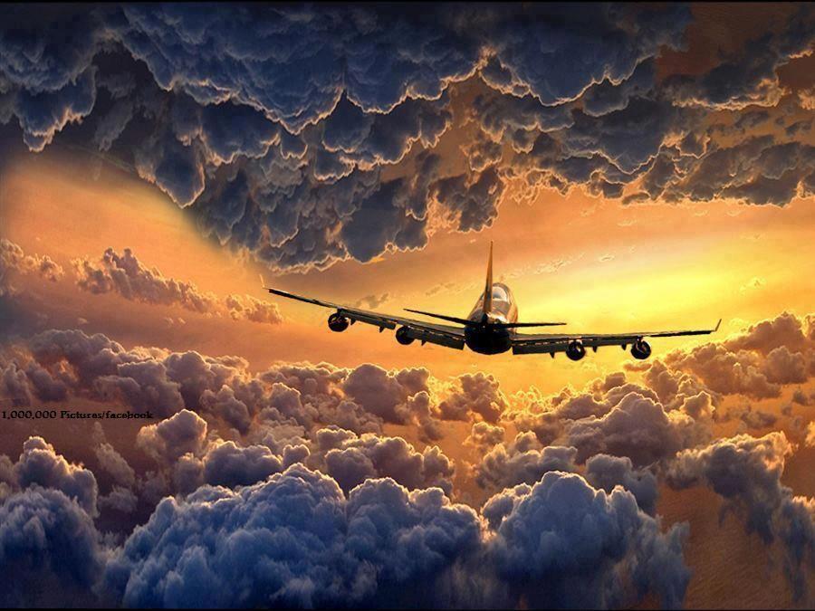 Открытка летчику с хорошим полетом