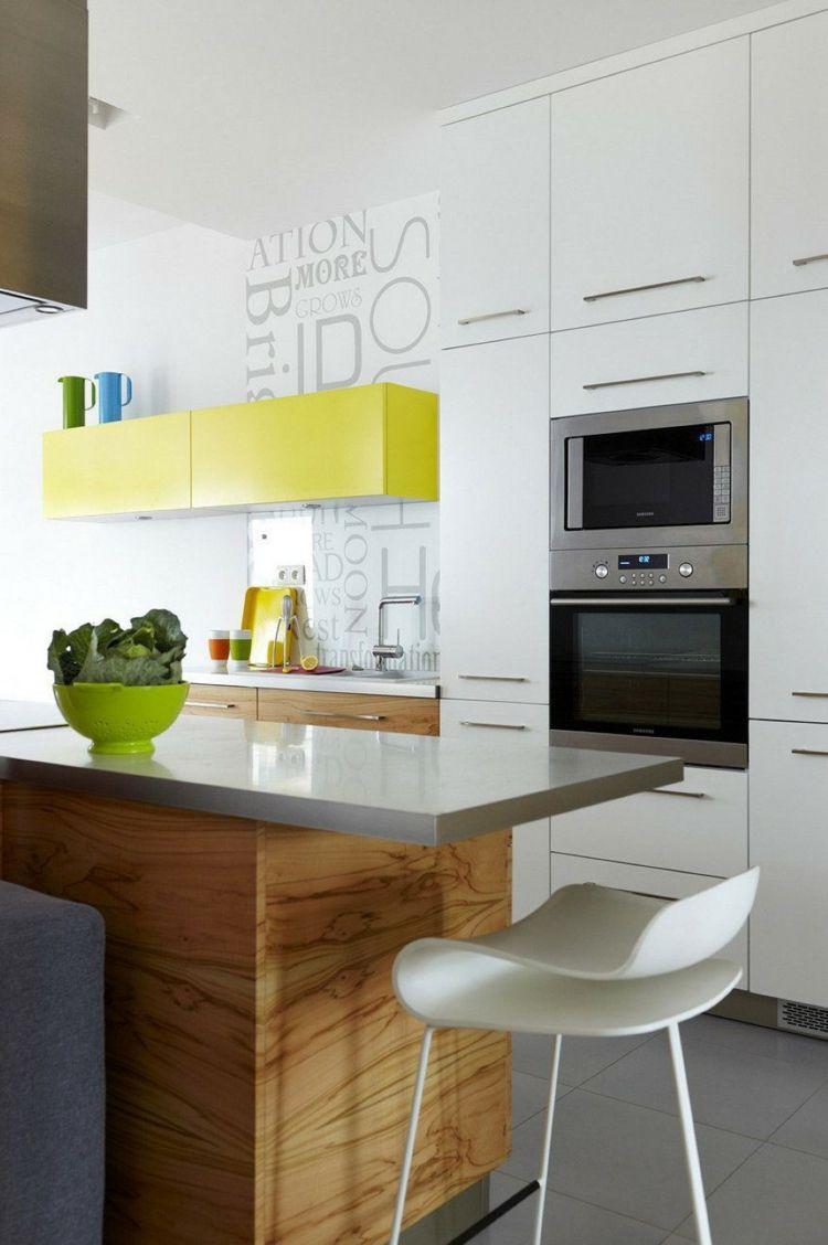 Diseños cocinas pequeñas modernas - cincuenta modelos - | Pinterest ...