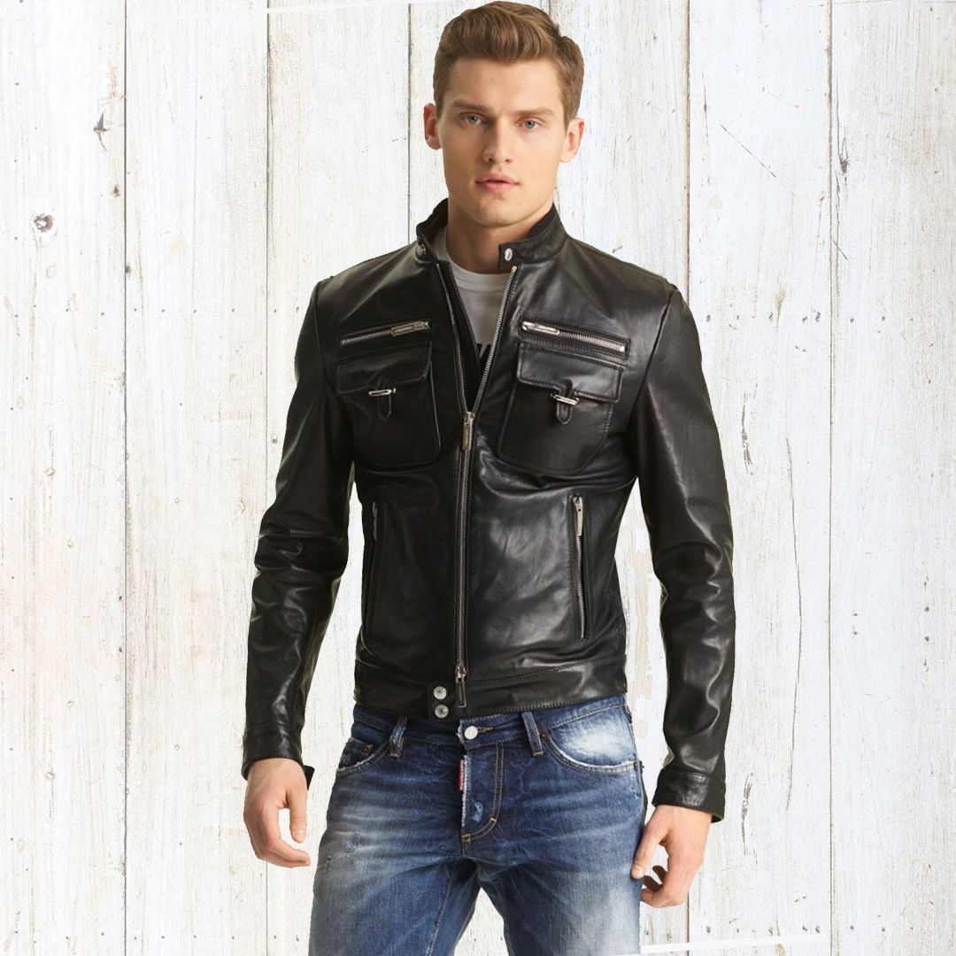 Cold Weather Means It S Time For The Jacket Get Yours Leather Jacket Men Style Leather Jacket Men Leather Jacket Outfit Men [ 1080 x 1080 Pixel ]