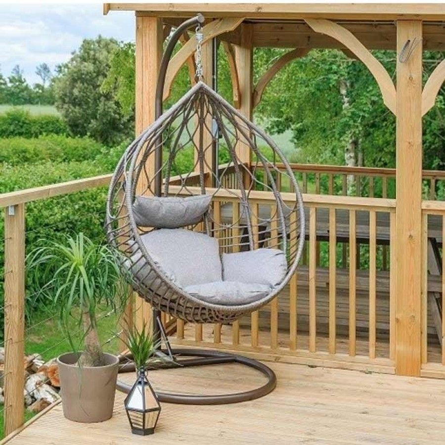 The Marseille Hanging Egg Chair by Leisuregrow, is just