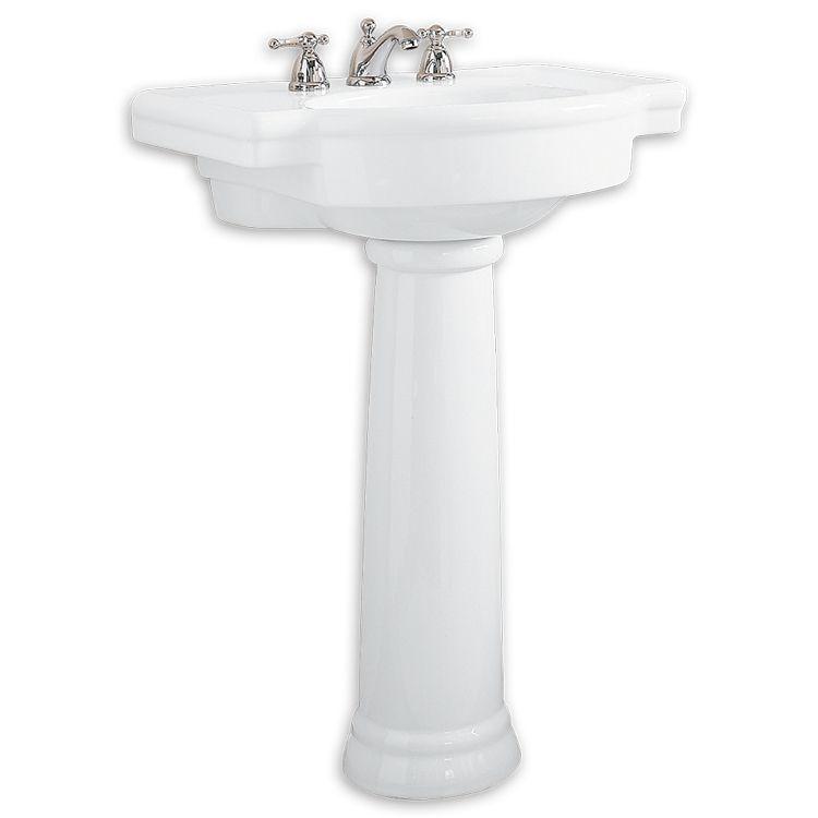 American Standard 0282 800 020 Retrospect 27 Pedestal Bathroom