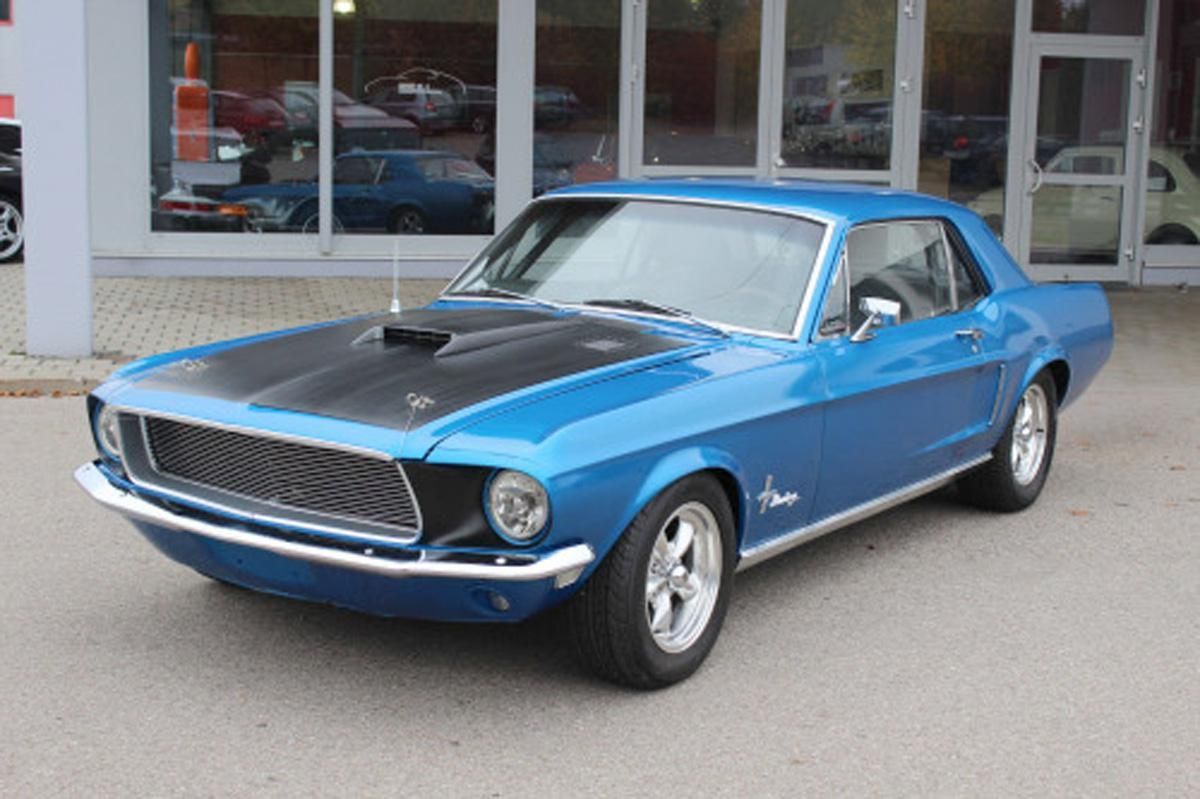 1968 ford mustang coupe the mustang can be tailored to be anything from a gentle