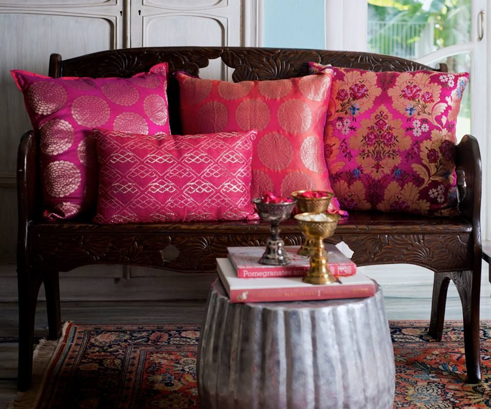 cushions   Indian Bohemian and Moroccan   Pinterest   Pillows ...