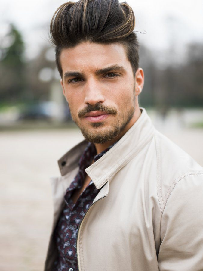 The Fashion Week Begins Mens Facial Hair Pinterest Mariano Di