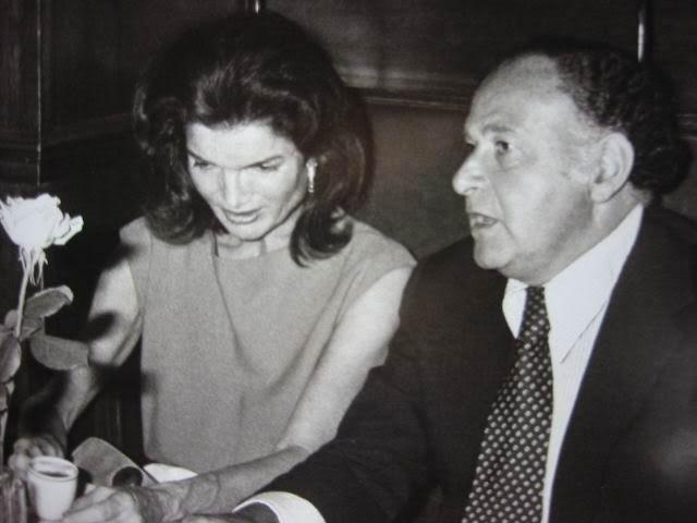 Jackie And Maurice Jackie Kennedy Jackie Onassis Jacqueline