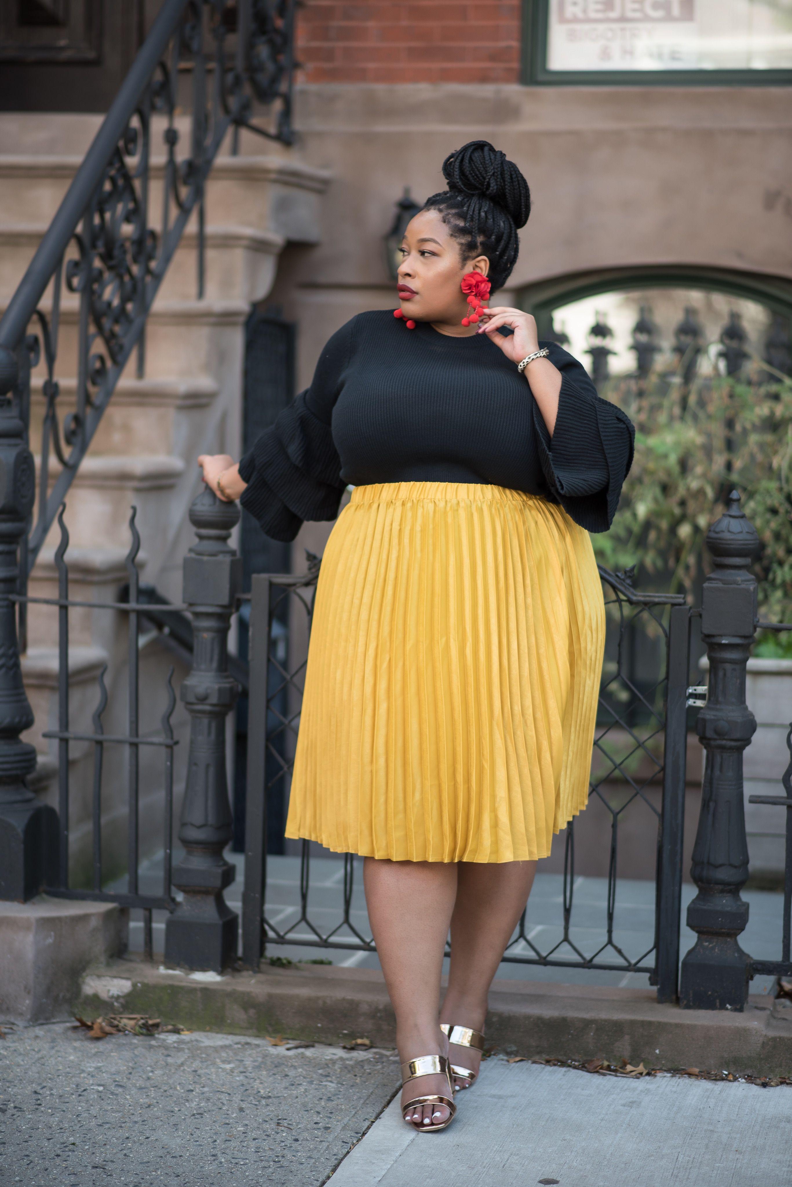 1669a7b8f2 Plus Size Fashion for Women - Essie Golden | Fashion | Moda para ...