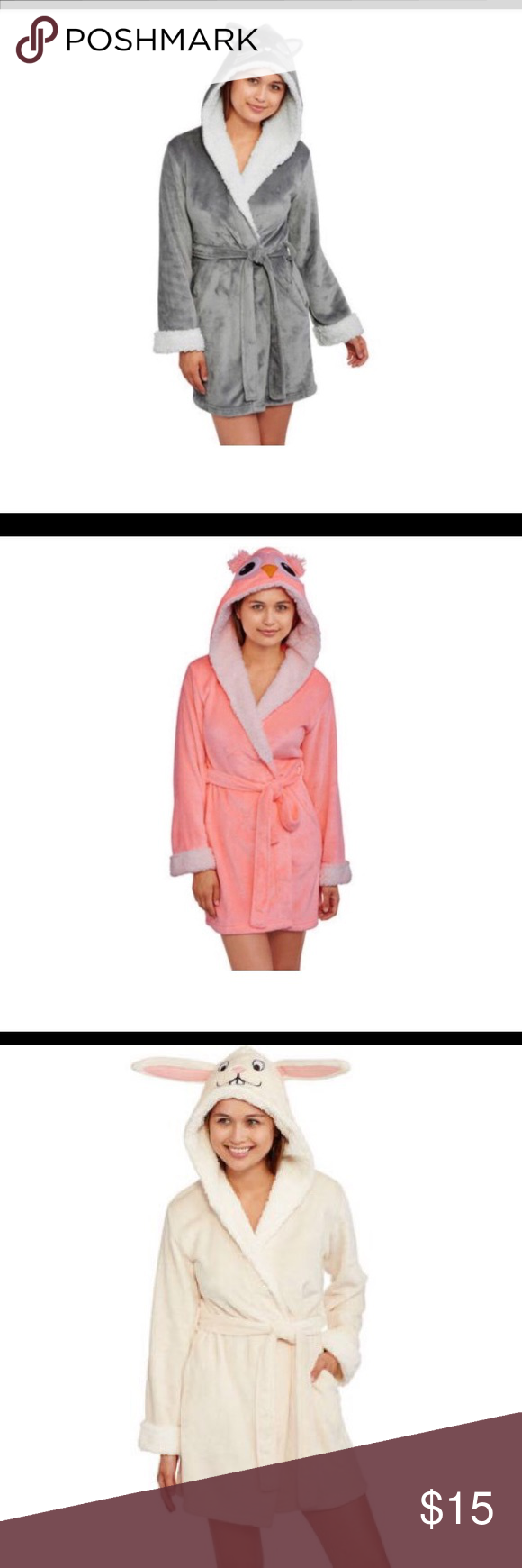 c2e5bafde99 Body candy Girls sleepwear robe. New with tags!! Body candy - Adorable  juniors (girls) sleepwear robe. Available in gray cat