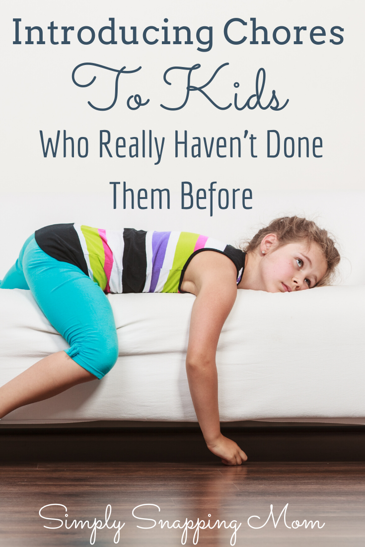 Introducing Chores to Kids